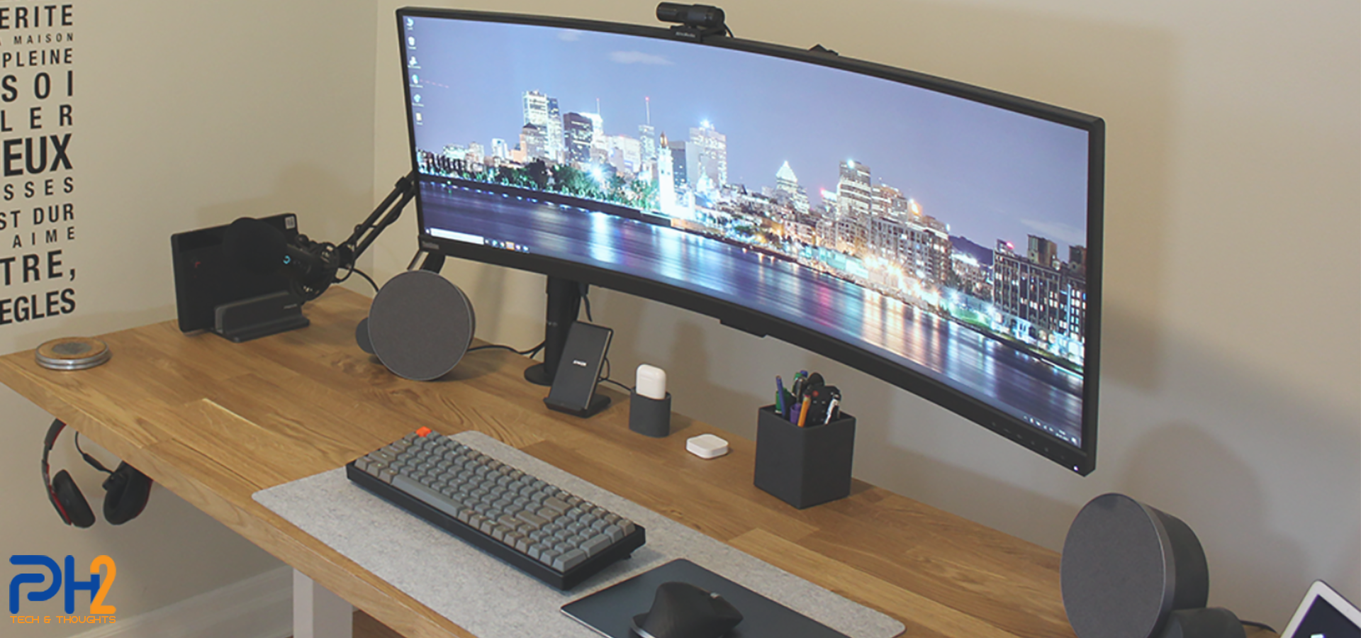 Work from home desk setup 2021